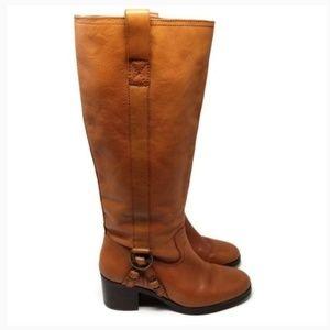 LAUREN Ralph Lauren Calvina Polo Vachetta Boots